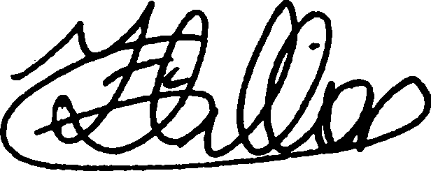 The static signature of user 14
